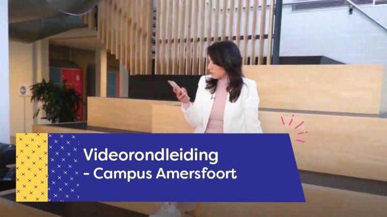 YouTube video - Rondleiding gebouw Welzijn Campus Amersfoort
